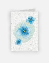 bouquet-de-myosotis-papierfleur-carte-a-planter-graines-papier-ensemence-zero-dechet