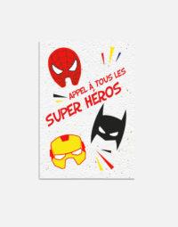 pack-carton-anniversaire-super-heros-recto-papierfleur-premium-fleurs-carte-a-planter-ecologique